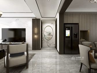 20万以上130平米三新古典风格玄关图