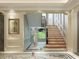 20万以上140平米别墅英伦风格楼梯间装修效果图