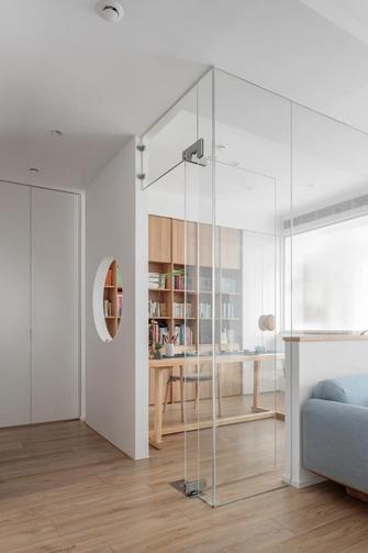 豪华型130平米三室一厅北欧风格书房欣赏图