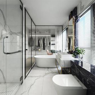 100平米三室一厅中式风格卫生间图