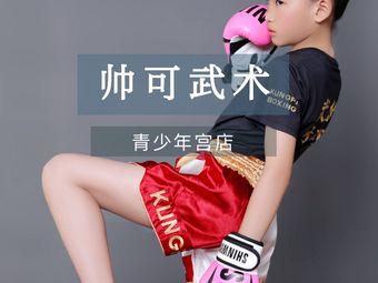 帅可武术散打俱乐部(青少年宫店)