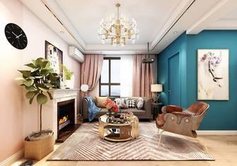 富裕型90平米一室一厅北欧风格客厅装修效果图