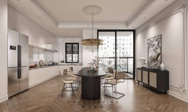 豪华型140平米四室两厅法式风格餐厅设计图