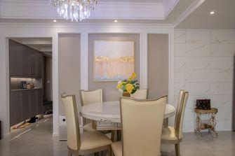 20万以上110平米四室一厅美式风格餐厅图