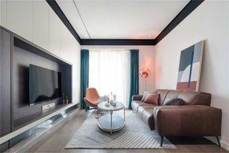 富裕型80平米北欧风格客厅图片