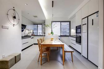 130平米三日式风格厨房设计图