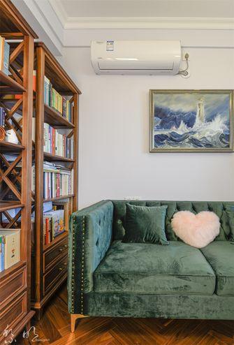 90平米美式风格书房图