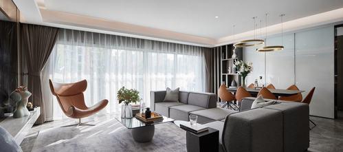 豪华型140平米三轻奢风格客厅图片
