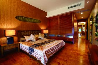 120平米三东南亚风格卧室图