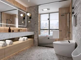 90平米三室三厅轻奢风格卫生间设计图