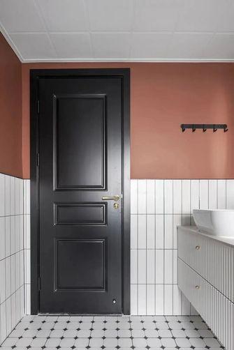 经济型90平米三室两厅北欧风格卫生间装修案例