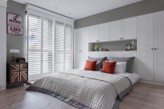 经济型50平米英伦风格卧室装修效果图