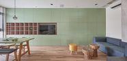 10-15万60平米复式英伦风格客厅欣赏图