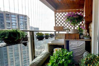 10-15万120平米三室两厅混搭风格阳台装修效果图