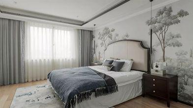 140平米三室一厅中式风格卧室图