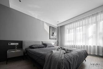 20万以上140平米三室两厅工业风风格卧室图片