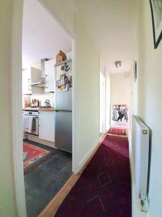 3万以下40平米小户型现代简约风格走廊图