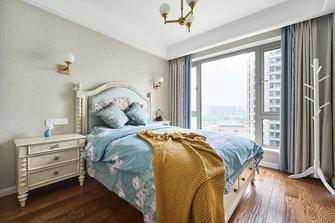 5-10万130平米三室两厅美式风格卧室设计图