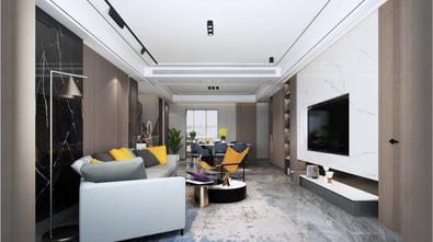 豪华型140平米复式轻奢风格餐厅装修效果图