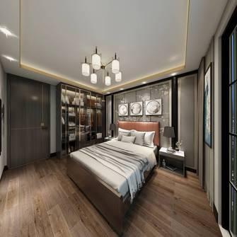20万以上130平米三室三厅港式风格卧室装修案例