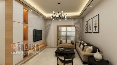 3-5万80平米三室两厅现代简约风格客厅图片