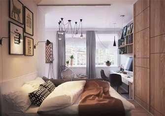 一室一厅港式风格卧室图片大全