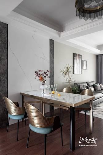 140平米四室两厅港式风格餐厅欣赏图
