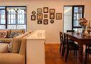 15-20万120平米四室两厅田园风格餐厅装修效果图