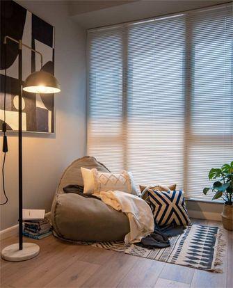 富裕型80平米三室两厅混搭风格书房图