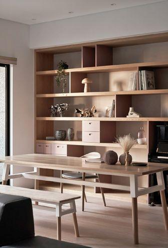 10-15万140平米三室一厅日式风格书房装修效果图