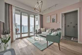 10-15万120平米三室两厅北欧风格客厅装修案例