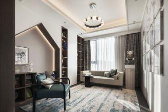 20万以上140平米四室一厅轻奢风格书房装修图片大全