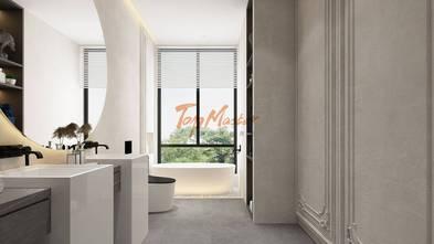 140平米别墅法式风格卫生间设计图