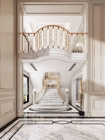 20万以上140平米复式法式风格楼梯间装修图片大全