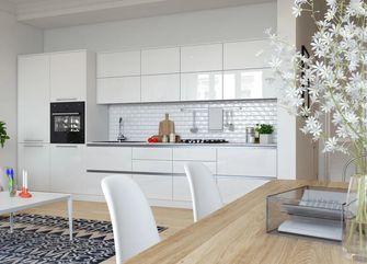 一室一厅北欧风格厨房图片