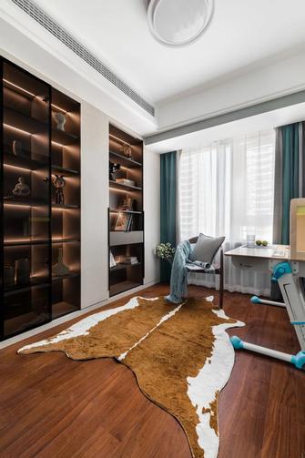 富裕型110平米四室两厅混搭风格书房欣赏图