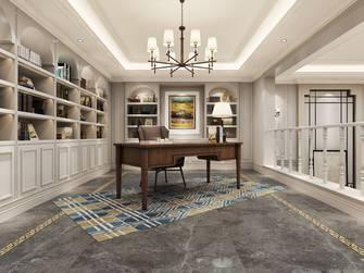 豪华型140平米别墅美式风格书房欣赏图