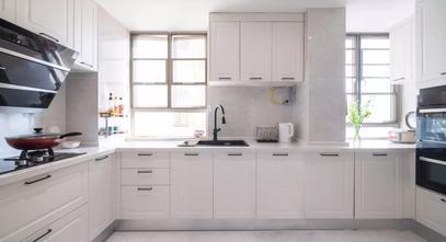 20万以上110平米三室一厅美式风格厨房设计图