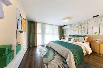 经济型50平米复式田园风格卧室设计图