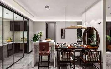 120平米新古典风格餐厅效果图