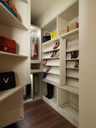 120平米三室一厅混搭风格衣帽间装修效果图
