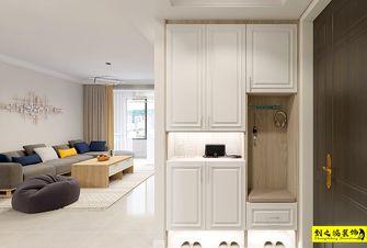 富裕型110平米三室两厅北欧风格玄关效果图