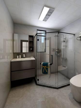 120平米现代简约风格卫生间装修案例
