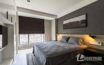 3万以下120平米三室两厅现代简约风格卧室设计图