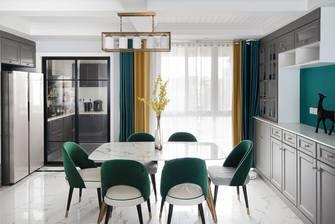 豪华型120平米三室两厅混搭风格餐厅装修案例