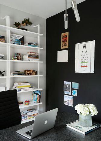 富裕型100平米三室两厅新古典风格书房欣赏图