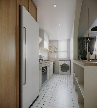 豪华型80平米三室一厅法式风格厨房图