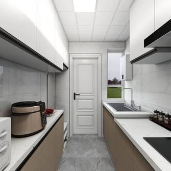 5-10万30平米超小户型现代简约风格厨房设计图