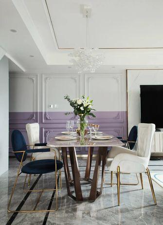 15-20万90平米复式法式风格餐厅装修案例