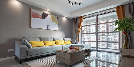 20万以上130平米四现代简约风格客厅装修案例